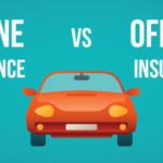 online car insurance vs offline car insurance